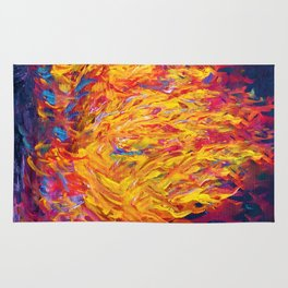 Fire and Passion - Here's to New Beginnings Rug