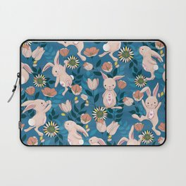 Spring Bunnies and Blooms Laptop Sleeve