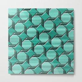 Geometrix XLIV Metal Print