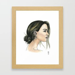 Essie Framed Art Print