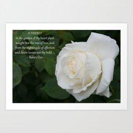 Garden Of Thy Heart Art Print