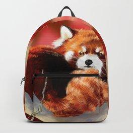 Red Panda Backpack