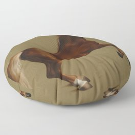 Whistlejacket by George Stubbs 1792 Floor Pillow