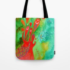 Surging From The Sea Of Dreaming Tote Bag