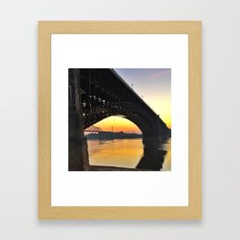 Eads Bridge Framed Art Print