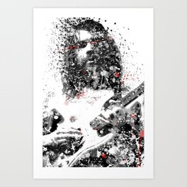 Simon Neil Art Print