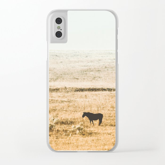 Breakfast in the Fog Clear iPhone Case