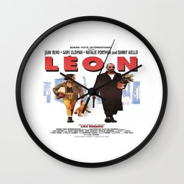 LEON The Professional Vintage Wall Clock