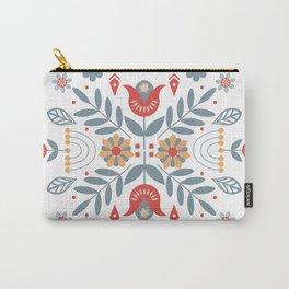 Scandinavian Folk Art Carry-All Pouch