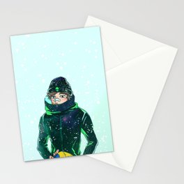 Oikawa Frostbite Stationery Cards