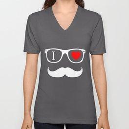 Hipster Unisex V-Neck