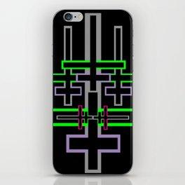 DOUBLE CROSS iPhone Skin