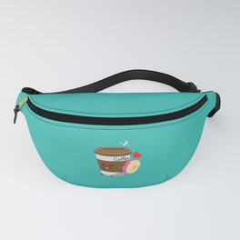 Coffee and Donut Fanny Pack