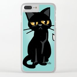 He is disappointed Clear iPhone Case