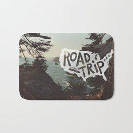 Road Trip USA - big sur Bath Mat