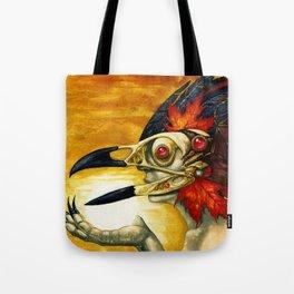 Raptor: Corvus Tote Bag