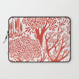 Red Forest Laptop Sleeve
