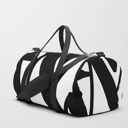 Hidden Letters. Baskerville M Duffle Bag