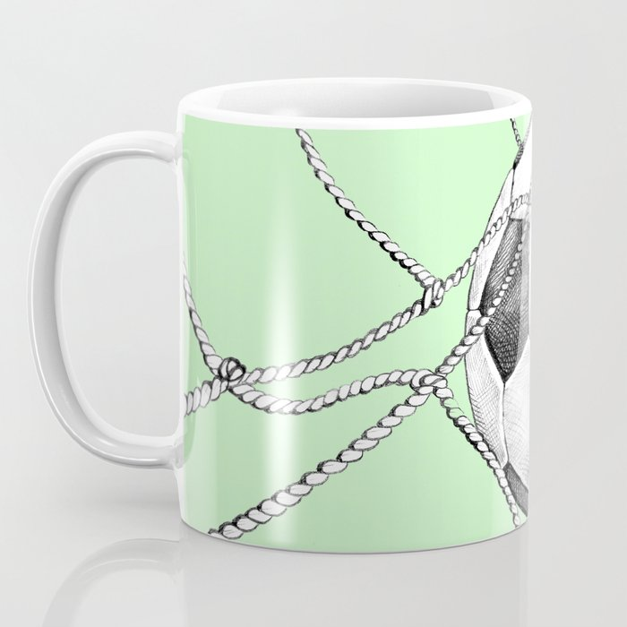 Goal in green Coffee Mug