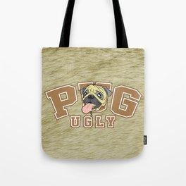 Pug Ugly Tote Bag