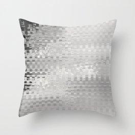 Glytch 12 Throw Pillow