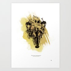 Solitude is independence Art Print