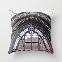 Church view Throw Pillow