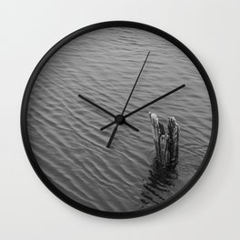 Remnants Wall Clock