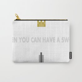 8-Bit-Hero Carry-All Pouch