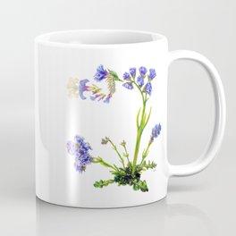 Statice Flower Dissection Coffee Mug