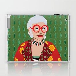 Iris Apfel Laptop & iPad Skin