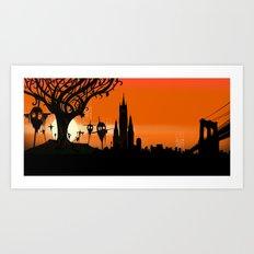 Scarecrows Art Print
