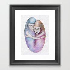 absolute togetherness Framed Art Print