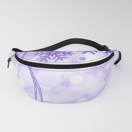 Christmas Snowflakes Fanny Pack