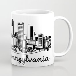 Pittsburgh Pennsylvania Skyline Coffee Mug