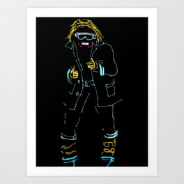 35- Light Balance Art Print