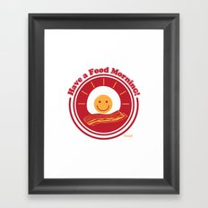 Food Morning! Framed Art Print