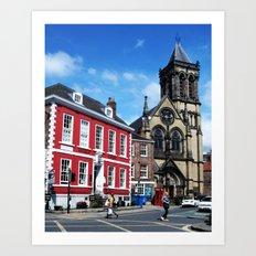 Duncombe Place, York Art Print