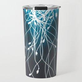 Electric Jellyfish Travel Mug
