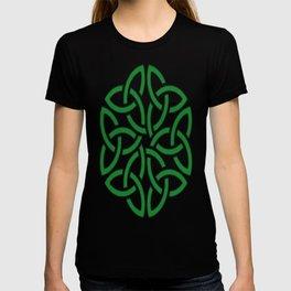 Shamrock Celtic Art Knotwork Design T-shirt