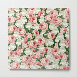 Juliet -  Romantic Roses Metal Print