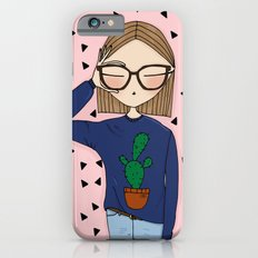 SELFIE  with prickly background iPhone 6s Slim Case