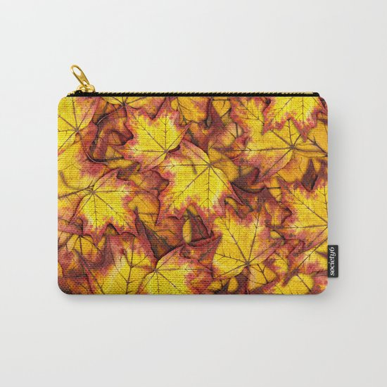 Autumn Leaves 04 Carry-All Pouch