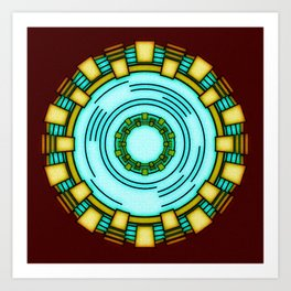 i am ironman Art Print