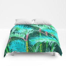 Palm Forest Comforters