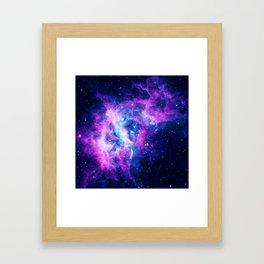 Dream Of Nebula Galaxy Framed Art Print
