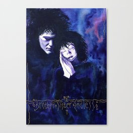 Brother Sister Endless Canvas Print