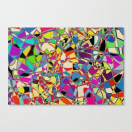 Wibbly  Canvas Print