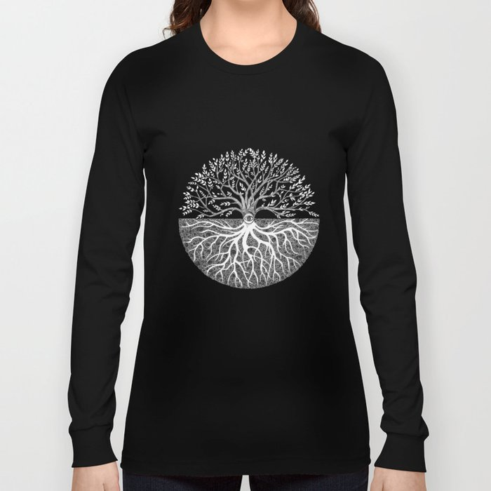 Druid Tree of Life Long Sleeve T-shirt