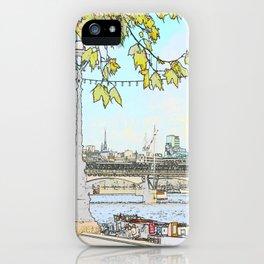 London River Scene iPhone Case